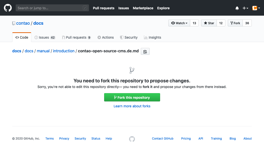 Fork this repository